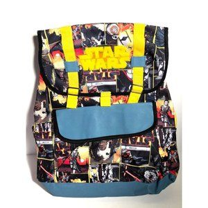 Disney Star Wars Yellow Blue Black Red Backpack Ki